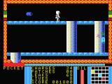 Strange Loop MSX Use a teleport to be teleported to a new screen