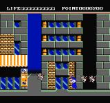 Valis: The Fantasm Soldier NES Fighting off more flying mice