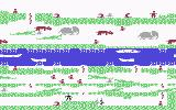 Floyd of the Jungle Commodore 64 Level 4