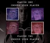 The Lawnmower Man SNES Selecting a character.