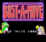 Bust-A-Move Game Gear Title screen