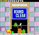 Bust-A-Move Game Gear Round 1 clear