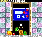 Bust-A-Move Game Gear Round 10 clear