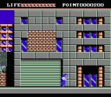 Valis: The Fantasm Soldier NES Enter the building by walking to the edge of the screen.