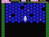 Kubus MSX Start of the first level.