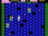 Kubus MSX Avoid the enemies that move around the maze.