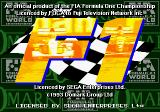 Formula One Genesis Title screen
