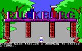 Donald Duck's Playground PC Booter Select your skill-level