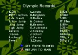 Olympic Summer Games Genesis Olympic records