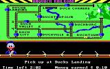 Donald Duck's Playground PC Booter Controlling where that little train will travel