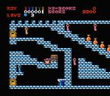 Castlequest NES How can you get to the blue key?