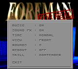 Foreman for Real Genesis Options