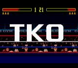 Foreman for Real Genesis Technical Knockout in my favour