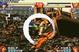 The King of Fighters EX2: Howling Blood Game Boy Advance After doing her Grand Saber move, Leona complements it with a Gliding Buster, doing a 2-hit combo.
