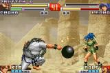 The King of Fighters EX2: Howling Blood Game Boy Advance Chang's Ball and Bash move meets Leona's Earring Bomb: a quick advantage for her explosive attack...