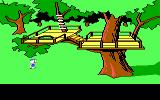 Donald Duck's Playground PC Booter Even a treehouse!
