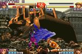 The King of Fighters EX2: Howling Blood Game Boy Advance Using carefully a strong punch when ducked, Bao finds a easy way to escape of Miu's move Yomosugara.