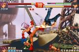 The King of Fighters EX2: Howling Blood Game Boy Advance Fighting against Jun: this time, Clark wasn't fast enough to avoid her SDM Chop Buster Excellent...