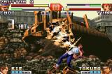The King of Fighters EX2: Howling Blood Game Boy Advance Due to Yuri's defenseless moment, Choi had total freedom to do his aerial DM Super Revolving Puncture.