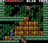 Vampire: Master of Darkness Game Gear The giant birds are even flying inside the lab