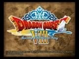 Dragon Quest VIII: Journey of the Cursed King PlayStation 2 Title Screen