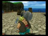 Dragon Quest VIII: Journey of the Cursed King PlayStation 2 As with the previous game, breaking pots and barrels can net you nice loot.  Yangus here is getting ready to smash