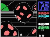 A.E. MSX The game has a 3D view perspective.