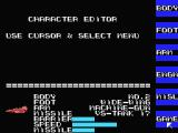 Scarlet 7: The Mightiest Women MSX Space ship character editor
