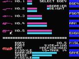 Scarlet 7: The Mightiest Women MSX Select a body for your ship.