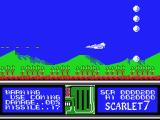 Scarlet 7: The Mightiest Women MSX The game starts off a bit easy.