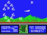 Scarlet 7: The Mightiest Women MSX Shoot your way through this swarm of aliens.