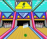 Dynamite Bowl MSX Will those pins fall?