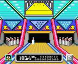 Dynamite Bowl MSX You can play with five players at the same time.