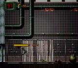 Alien³ SNES Hit by crawler