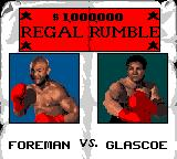 Foreman for Real Game Gear Exhibition match: Foreman vs. Glascoe