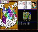 Romance of the Three Kingdoms II MSX Let's conquer some land!