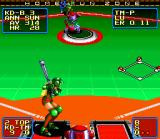 Super Baseball 2020 SNES The pitcher has a short circuit