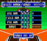 Super Baseball 2020 SNES Players can be powered up using the money earned so far