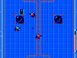 Speedball SEGA Master System The red players advance...