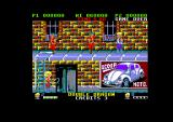 Double Dragon Amstrad CPC Up on a different platform