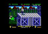 "Double Dragon II: The Revenge Amstrad CPC ""You are the weakest link -- goodbye!"""