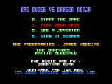 Bad Dudes Amstrad CPC Startup