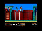 Bad Dudes Amstrad CPC Stage 1