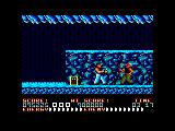 Bad Dudes Amstrad CPC Boss has been killed
