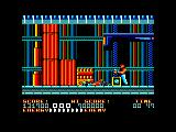Bad Dudes Amstrad CPC Boss death