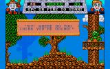 Fantasy World Dizzy Amiga Demo mode.