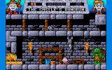 Fantasy World Dizzy Amiga The castle's dungeon.