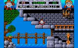 Fantasy World Dizzy Amiga Moat and portcullis.