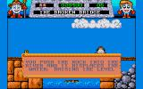 Fantasy World Dizzy Amiga The broken bridge.