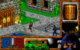 Last Ninja 3 Amiga The enemies will try to block your way and kill you.